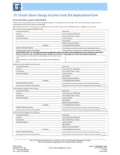 ISA Application Form